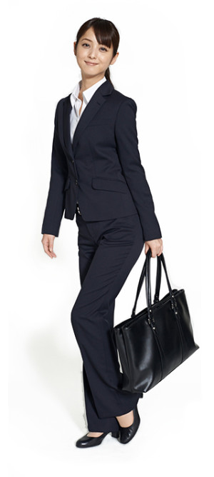 女子スーツ パンツ