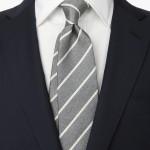 グレーのネクタイ