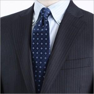 青 ネクタイ