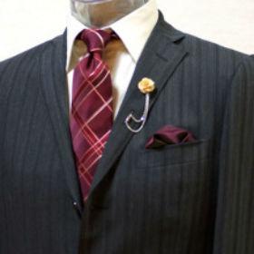 お洒落 スーツ