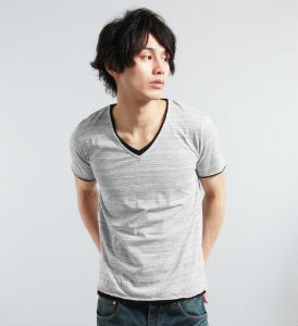 VネックTシャツ,メンズ