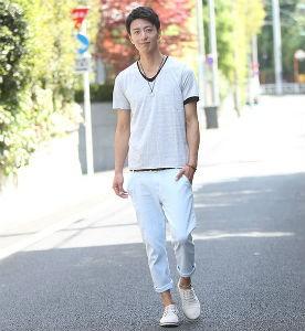 白Tシャツ,モテる