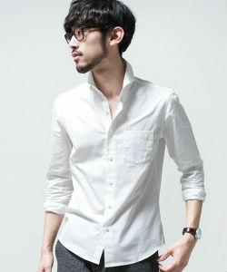 白シャツ,秋