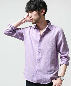 リネンシャツ,着こなし