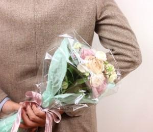 花束 卒業式