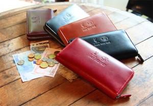 ジッパー型財布 メンズ