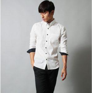 白シャツ メンズファッション