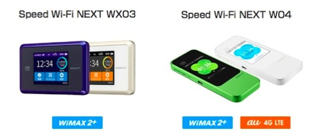 WiMAX W04 WX03