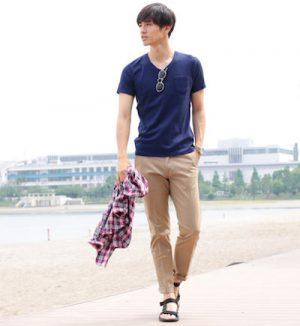 海 メンズファッション