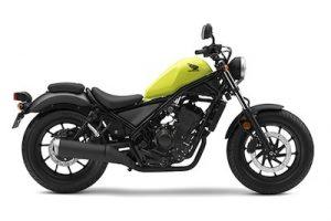 黄色のバイク 250cc