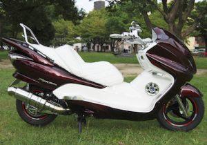ビッグスクーター カスタム