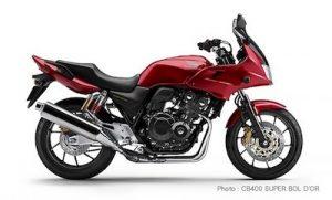 普通二輪バイク 400cc