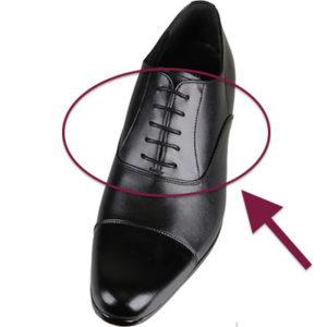 内羽根ストレートチップ 革靴