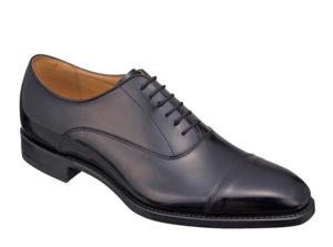 ガラス革 靴