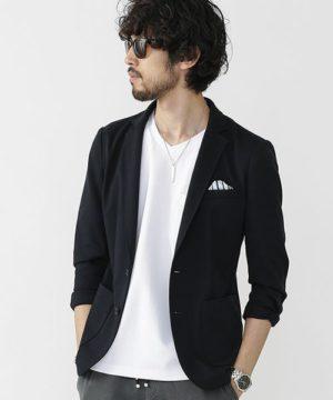 黒のテーラードジャケット メンズ