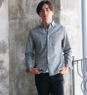 春のメンズファッション シャツ