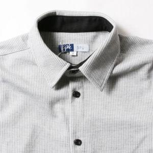 イタリアンカラーシャツ メンズファッション