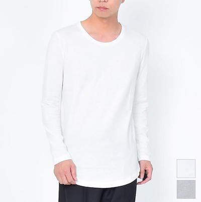 ロング丈Tシャツ メンズファッション ブランド