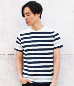 ボーダー柄Tシャツ 夏