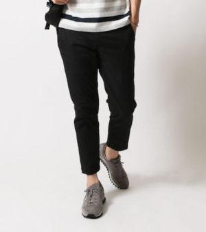 黒のアンクルパンツ メンズファッション