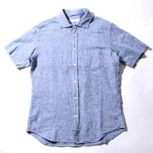 リネンシャツ メンズ 半袖