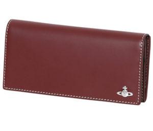 赤い長財布 メンズファッション