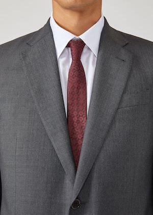 細いネクタイ 就活