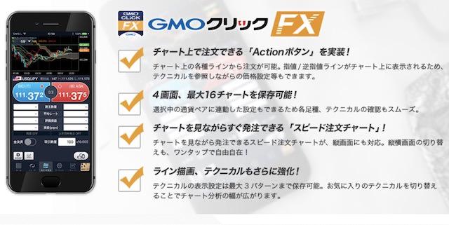 GMOクリック証券FX スマホアプリ