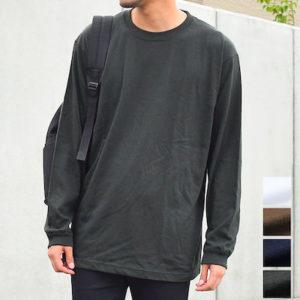 無地の長袖Tシャツ