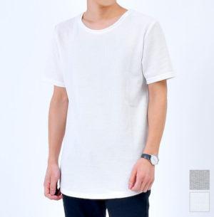 ロング丈半袖Tシャツ