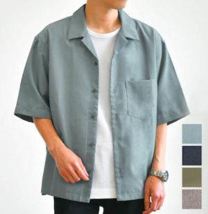 オープンカラーシャツ ブランド