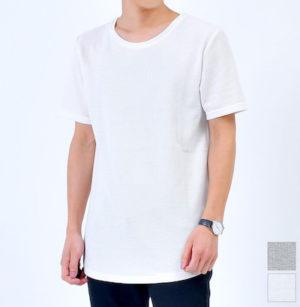ロング丈のTシャツ 半袖