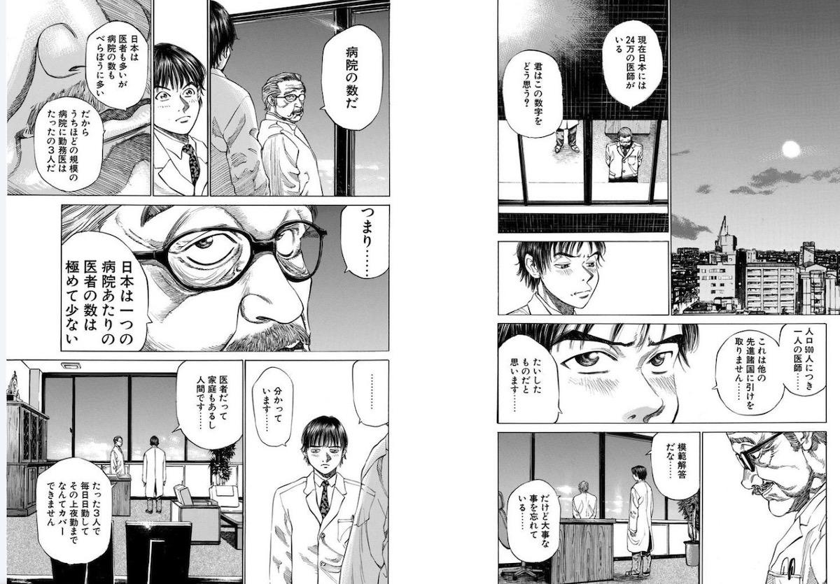 日本の病院と医者の数